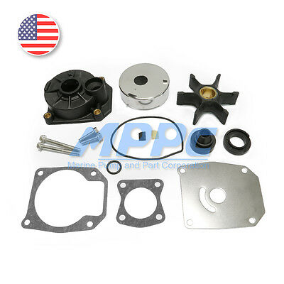Johnson Evinrude 40 45 50 55 60 HP Outboard Water Pump Impeller Kit Replacement