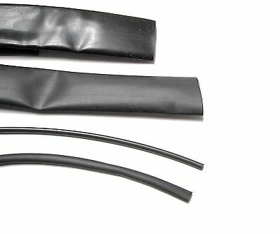 Shrink Tube diameter 2,4mm 1 meter black/black
