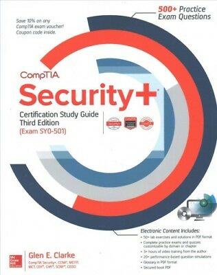 Comptia security certification bundle third edition exam sy0 501 comptia security certification exam sy0 501 paperback by clarke glen e fandeluxe Images