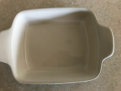 Emile Henry Made In France 6 Inch x 5 1/2 Inch Square Baker, Spring Green  by Em