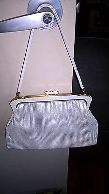 RETRO/VINTAGE 60s/ 70s OROTON GLOMESH HANDBAG FROM WEST GERMANY