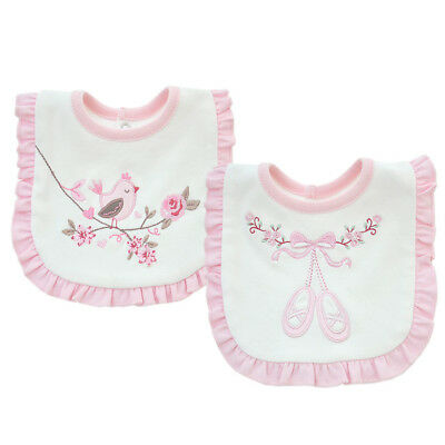 Baby Girl Bibs Animal Princess Lace Cotton Bandana Bibs Feeding Saliva Towel