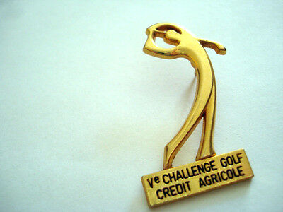 PINS RARE VINTAGE GOLF CHALLENGE CREDIT AGRICOLE BANK wxc 4