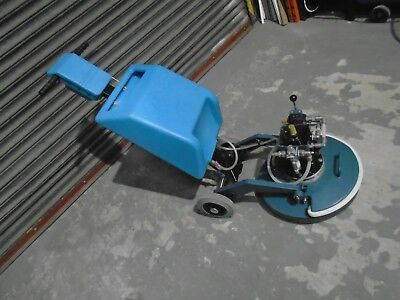 Cimex Deck / Floor Scrubber Polisher Scarifier -Air Driven- Unused Ex M.o.d.