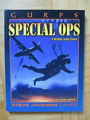 GURPS SPECIAL OPS - Steve Jackson Games 6029 – English - roleplay rollenspiel