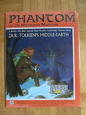 SEALED Phantom of the Northern Marches #8102 Merp Middle Earth lotr Rolemaster