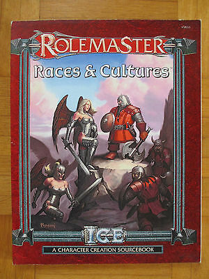 RoleMaster – RACES & CULTURES - Englisch #5816 – ICE FRPG Guide RM Fantasy Role