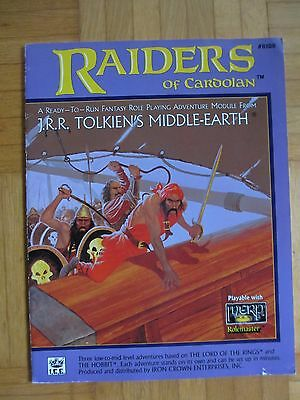 Raiders of Cardolan - #8108 – English Merp Middle Earth lotr Rolemaster rpg ring