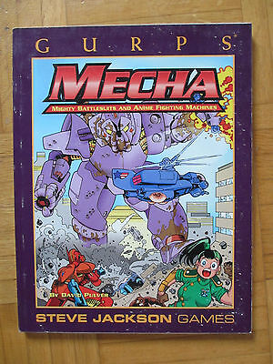 GURPS MECHA - Steve Jackson Games 6021 – English - sourcebook roleplay guide