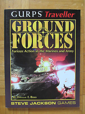 GURPS Traveller GROUND FORCES - Steve Jackson Games 6614 English guide adventure