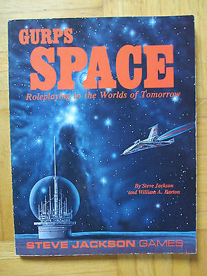 GURPS SPACE - Steve Jackson Games 6086 – English - roleplay prg ship guide sjg