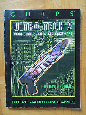 GURPS ULTRA-TECH 2 - Steve Jackson Games 6525 – English - roleplay wepaon rpg
