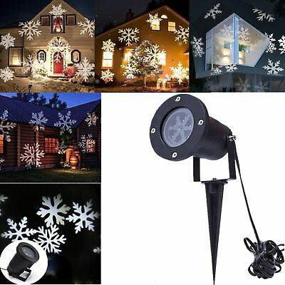 led laser licht projektor strahler weihnachten au en gartendeko beleuchtung lamp eur 15 99. Black Bedroom Furniture Sets. Home Design Ideas