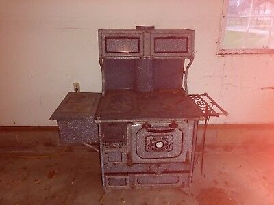 antique Wood-Fired cooking stove
