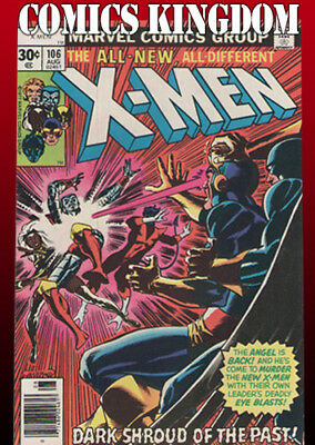 X-Men #106 (Cents Version) Aug 1977 VF