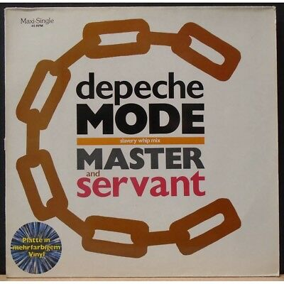 Depeche Mode Master & Servant Very Rare 1984 Mute Records Marble Vinyl
