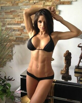 MICHELLE LEWIN - HOT SEXY PHOTO PRINT Glossy Finish A4 Size