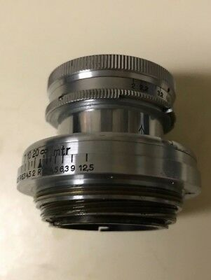 Leitz Leica Summar-Screw Mount L39 50mm/2.0 Yr.1935 Germany