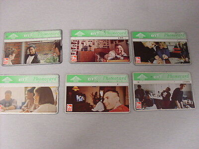 Bt  Phonecards 6 X Mixed  Nch