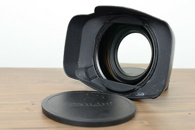 Canon WA-H82 0.8x Wide Attachment Lens BLACK w/LENS HOOD AND COVERS