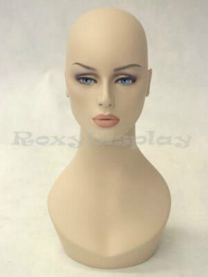 Female Fiberglass Mannequin Head Display #MD-HelenF1
