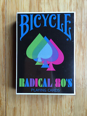 Bicycle Radical 80's Playing Cards - Limited Edition - SEALED