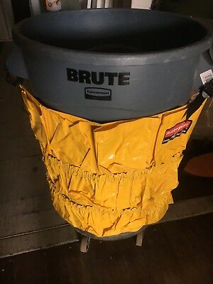 NEW Rubbermaid Brute Round Container Caddy Bag 2642 Janitorial Bag