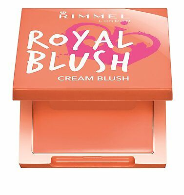 Rimmel London Royal Blush Cream To Powder Cream Blush 3.5g