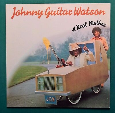 LP-Johnny Guitar Watson-A Real Mother-Label-DJM Records  ‎– 0064.205