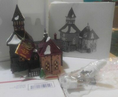 Dept 56 Dickens Village The Olde Camden Town Church  NIB 58346
