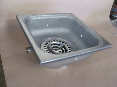 "J.R. Smith 3001Z141892 12"" x 12"" Square Sani-Ceptor Floor Drain Stainless Steel"