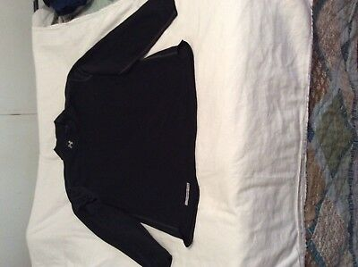 """Men's Under Armour """"cold gear"""" fitted long sleeve shirt, black, size XL"""