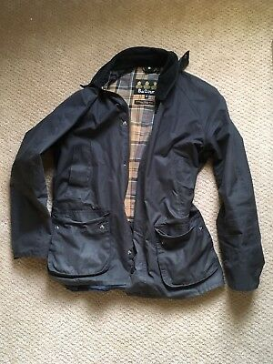 Barbour Waxed  Ashby Jacket-  Slim Fit Men's Medium