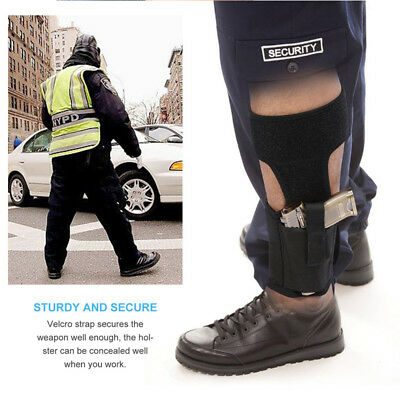 Tactical Concealed Ankle Holster Leg Pistol Gun Holster For Pouch Universal Gun