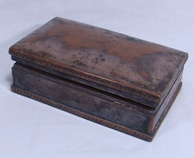 Late 1700s / Early 1800s Trinket Box John Parson & Co Market Place Sheffield
