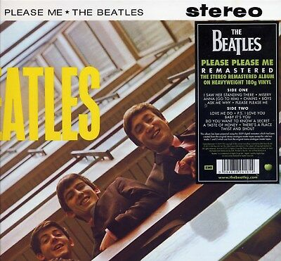 The BEATLES, Please please me. REMASTERED