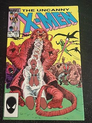 Uncanny X-men#187 Incredible Condition 9.2(1984) Romita.jr Art!!