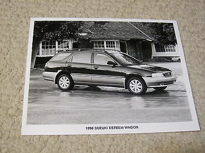 1998 Suzuki Esteem Wagon Original Press Photo