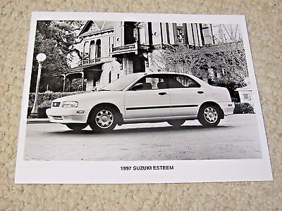 1997 Suzuki Esteem Original Press Photo
