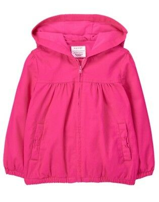 NWT Gymboree Ready Jet Go Toddler Girls Jacket Pink 12-18,18-24,2T,3T,4T,5T