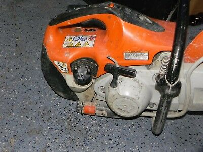 H4t Stihl TS420 Concrete Cut-Off Saw for parts or repair