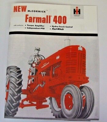 Other Tractor Publications Mccormick Tractor Booklet