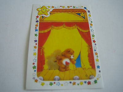 Vintage 1985 Panini Care Bear Sticker #13**american Greetings Corp**