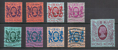 HONG KONG Small lot of early QE II 3 Scans Values to $20
