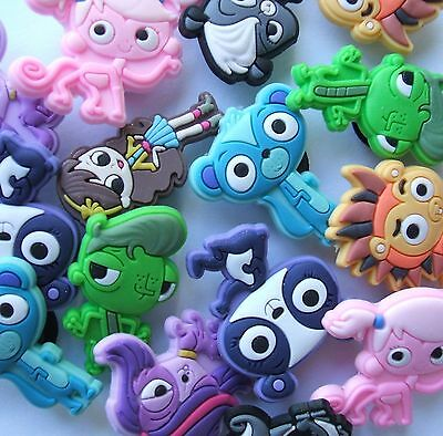 SHOE CHARMS - (K4) - inspired by LITTLEST PETSHOP *** 16 DIFFERENT ***
