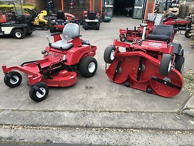 AS NEW Joystick Zero Turn Country Clipper Kawasaki Ride On Mower ONLY 47 HOURS!