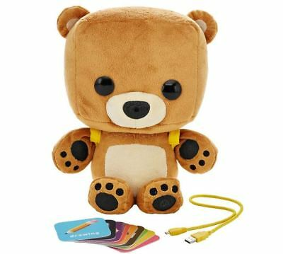 Fisher-Price Smart Interactive Bear Learning Talking Companion Toy New