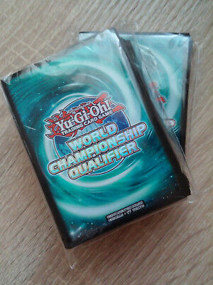 Yu-Gi-Oh! 1x 2017 WCQ Nationals Sealed Blue Sleeves
