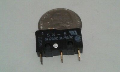 Omron SS-5 Micro Switch Microswitch Basic Switch New PLEASE SEE PHOTO`S