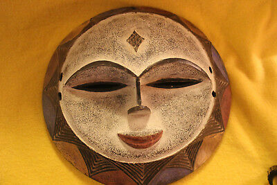 African Carved Wooden Zulu Mask Excellent Condition NO RESERVE!!!